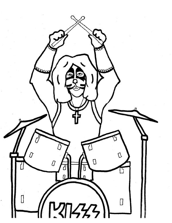 coloring pages of rock bands - photo#24